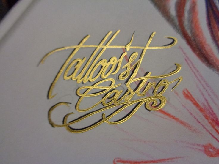 Tattooist Castro  Golden Tag
