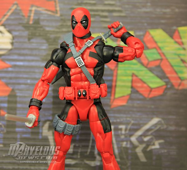 Marvel Legends 6 Deadpool Sasquatch Baf Wave 90 S Deadpool Figure Video Review Image Gallery Deadpool Deadpool Figure Marvel Legends