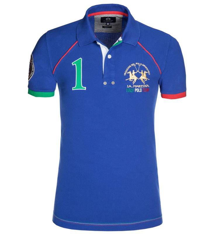 #polo shirt by LA MARTINA for the  world cup 2014 supporting #italy http://www.eckerle.de/marken/la-martina/