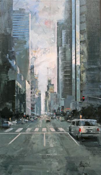 "Ricardo Galan Urrejola, ""Paeso en New York"", 2013"