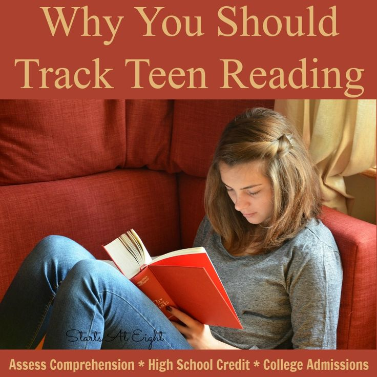 Why You Should Track Teen Reading talks about the need for being able to asses comprehension and track the books read by our teens.