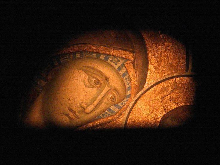 Дођи и види: Фреска Пресвете Богородице : Ман. Високи Дечани 14.век