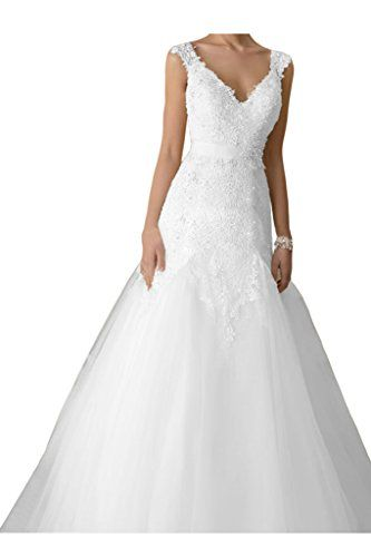 Ivydressing Exquisite V-neck Wedding Dresses Sash Plus Size Ball Gowns