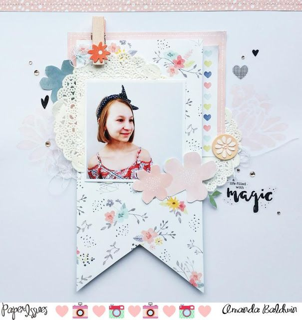 Magic layout for Paper Issues: Product Spotlight: Dear Lizzy Saturday