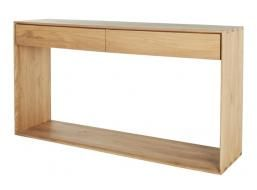 Ethnicraft Nordic 2 Drawer Console $1599 globewest