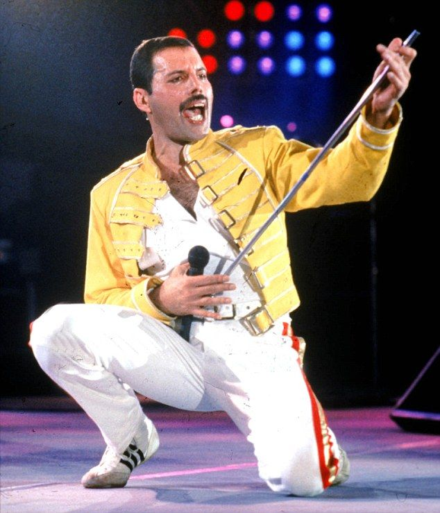 Late and great: Freddie Mercury of the pop group Queen was a mischievous yet complex character