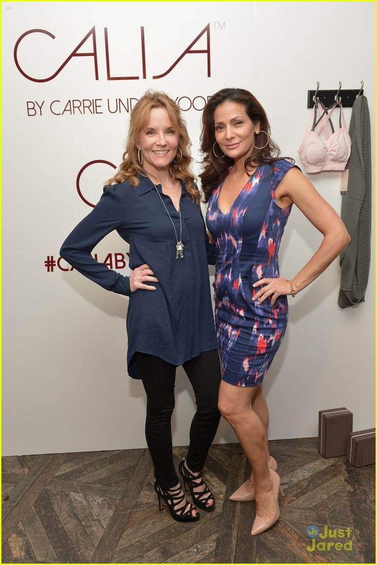 Lea Thompson  and Constance Marie at the CALIA By Carrie Underwood Launch Event