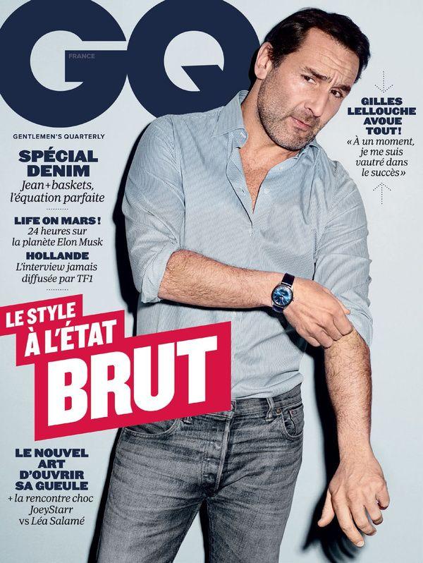 Gilles Lellouche fait la couverture de @gqfrance - Avril 2016