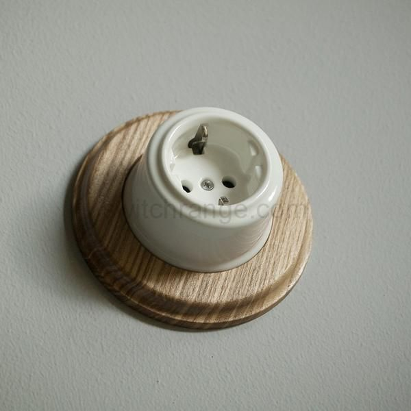 #wooden pattress #ceramic socket #american #walnut #mahogany  #ash #wood #ceramic #porcelain #woodwork #ornament #wall socket #switch #vintage #retro #artdeco #scandinavian #antique #period
