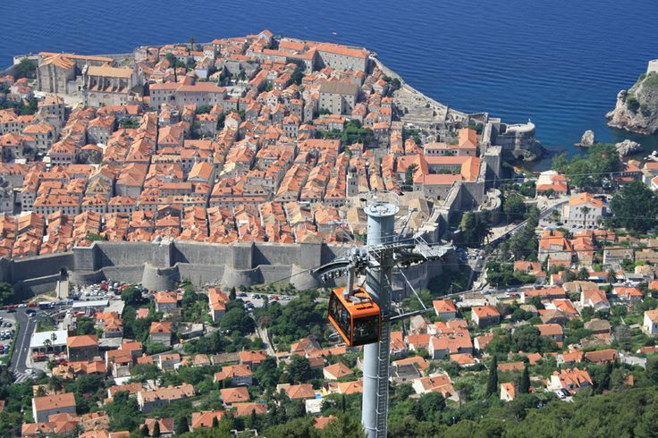 View from the Dubrovnik Cablecar