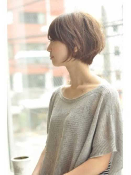 Fine Bob with Short Layered Bangs
