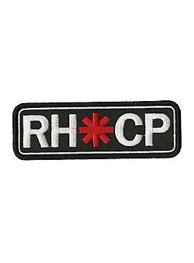 "<p>Iron-on patch from Red Hot Chili Peppers with an embroidered logo design. </p>  <ul> 	<li>4 1/2"" x 1 1/2""</li> 	<li>Imported</li> </ul>"