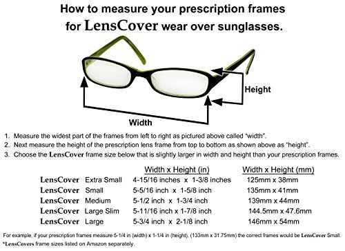 Fit Over Sunglasses by LensCovers  Fits over Prescription Glasses for Men and Women Small Brown * You can find out more details at the link of the image.Note:It is affiliate link to Amazon.
