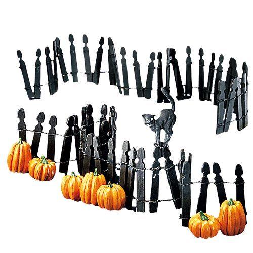 Department 56 - Halloween fence
