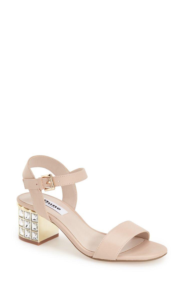 Black sandals littlewoods - Women S Dune London Harah Block Heel Sandal 2 1 2 Heel