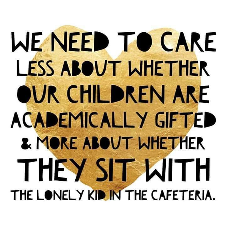 Inspirational Meme About Compassion: The Lonely Kid In The Cafeteria Meme Gets It All Wrong
