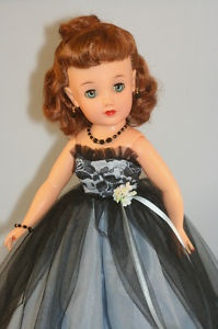 Miss Revlon vintage doll - my friend Perry and I loved Perry's Miss Revlon doll.  Back then we liked her better than Barbie, who came out a few years later.  For some reason Miss Revlon died out and Barbie lasted!