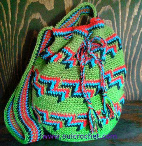 Ravelry: Mochila Bag pattern by Susie Oui Crochet