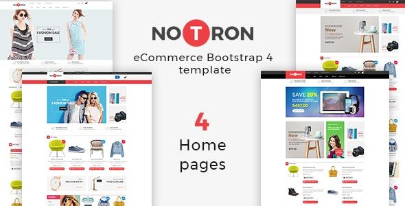 Notron – Fashion Furniture Store HTML Template is a modern