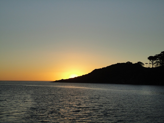Sunset over Raglan  #Sunset #Travel