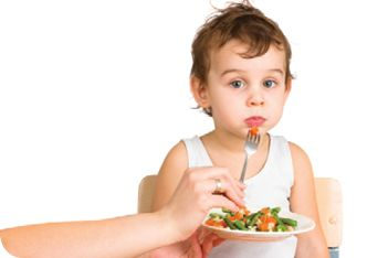 Q: My son is a pretty good eater, but refuses to eat vegetables. What are some tips for getting toddlers to eat their vegetables?