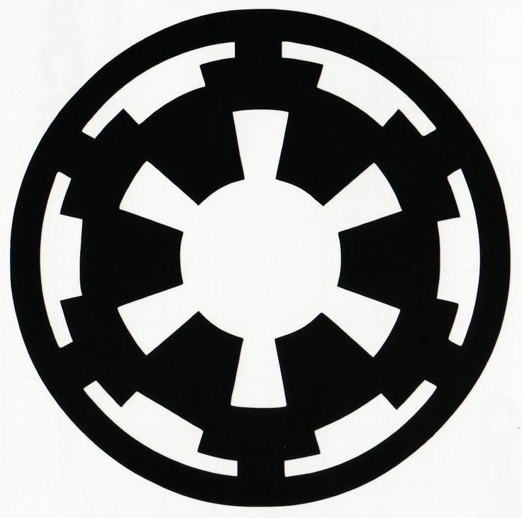 Star Wars Galactic Empire Logo Symbol Vinyl Decal Sticker