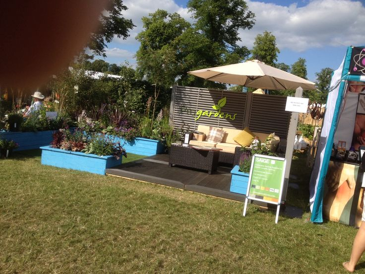 Our show stand at Blenheim flower show