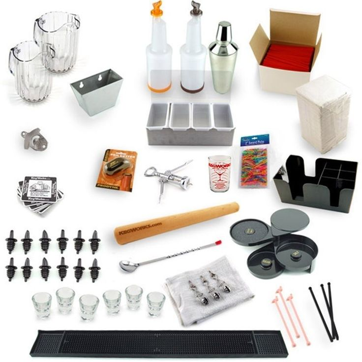 Ultimate Bartending Kit Bar Tools Accessories Pub Drink Mixing Gadgets Gift Set