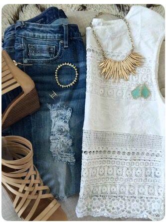 Summer Outfit. Stitch fix inspiration June 2016. Try stitch fix subscription box…