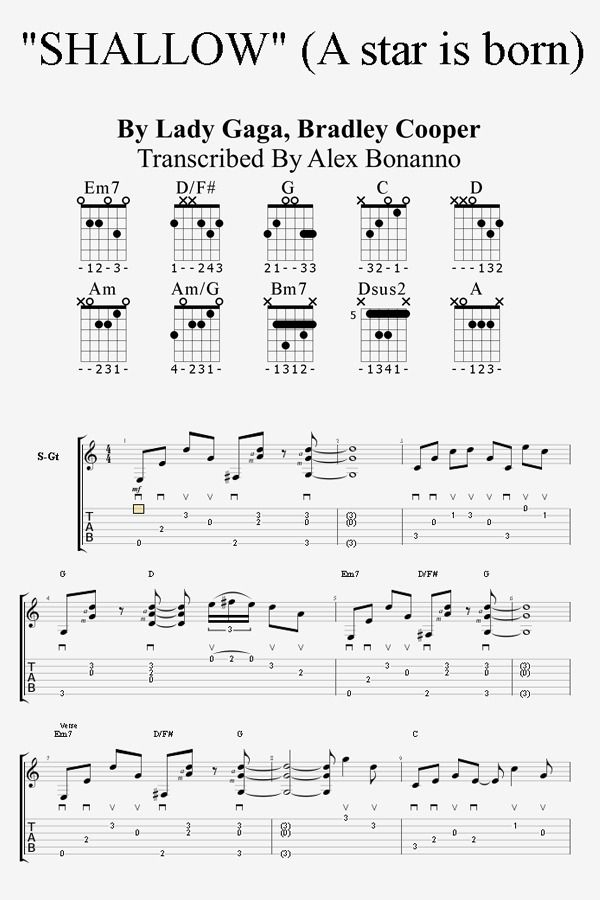 Shallow Guitar Lesson How To Play Shallow On Guitar