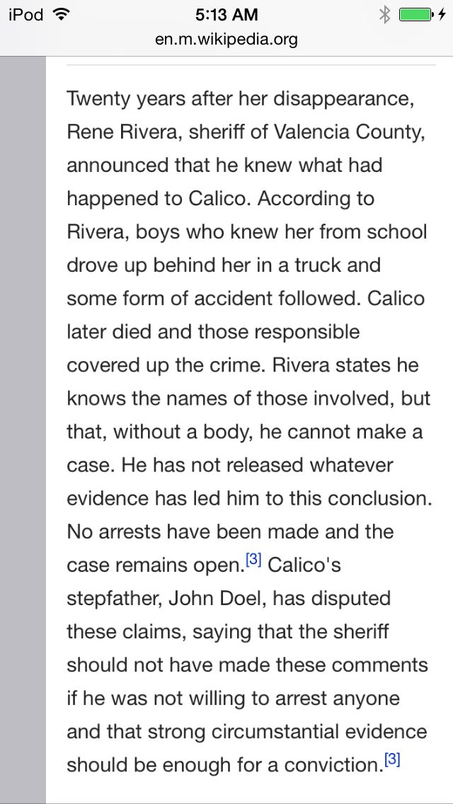 tara calico died from a doel family so plz stfu doel you son of a bitch, rest in peace tara calico