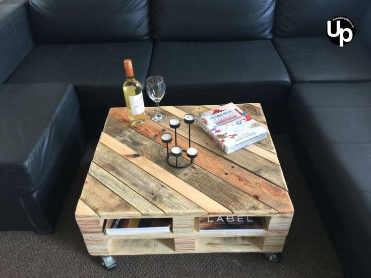 Paleta De Reciclado Madera, Mesa de café, rústico, Loft Chic.