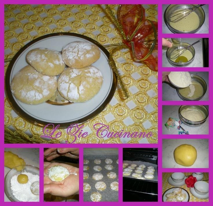 Biscotti per il the al limone