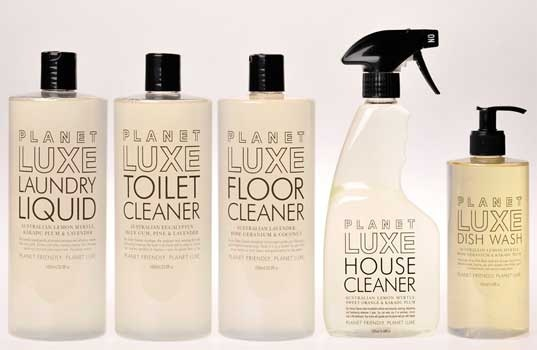 Cool and green cleaning products! by Planet Luxe Range, Australia