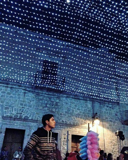 "liriorosado: ""Christmas lights. Morelia's downtown. Mexico. """
