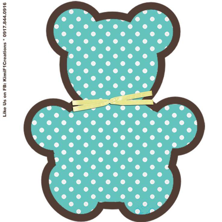 Teddy Bear Baby Shower Templates | free baptismal invitation template ...