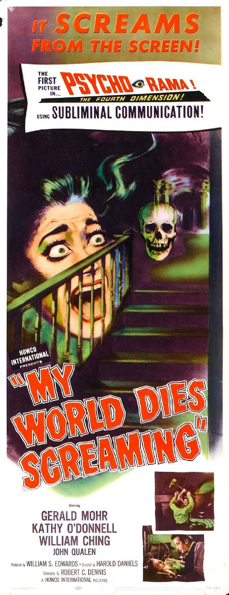My World Dies Screaming (1958)