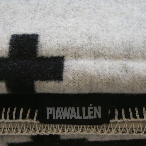 Shop Online - Pia Wallen Baby Cross Blanket - International Shipping
