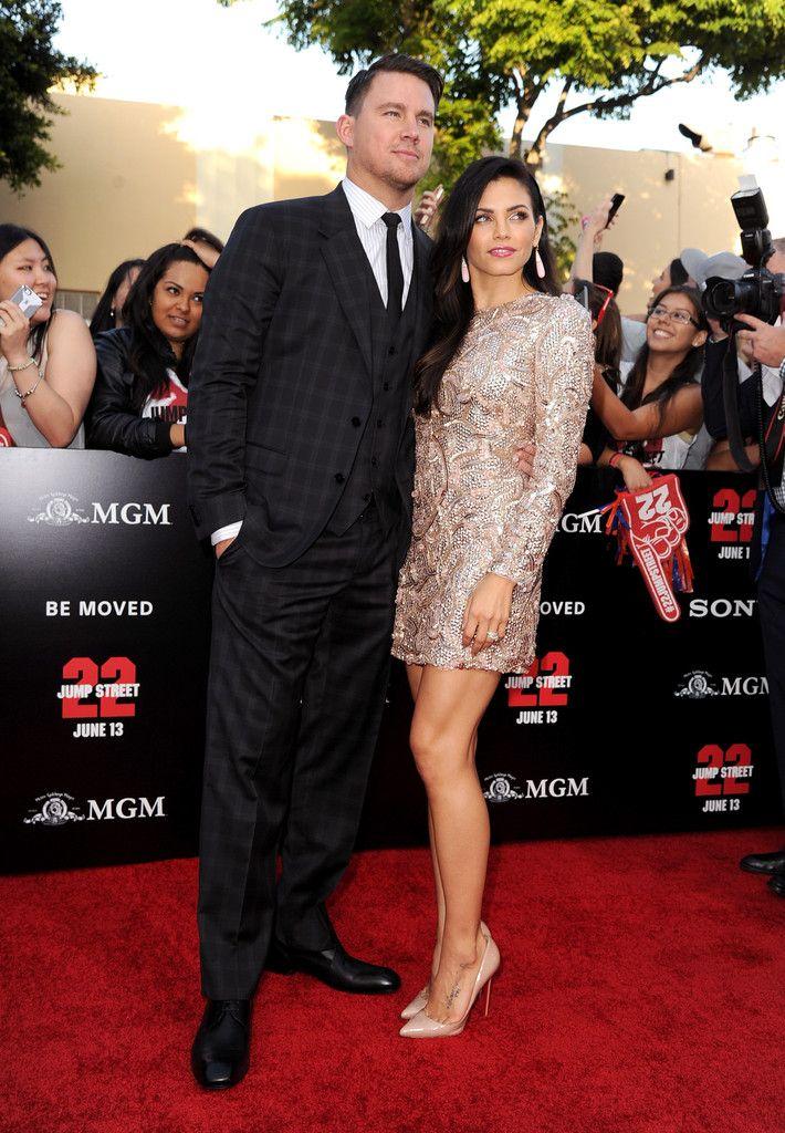 June 2014 - Stylish Celebrity Couples: Channing Tatum and Jenna Dewan-Tatum - Photos