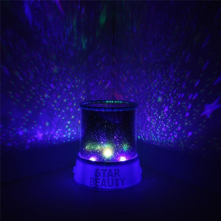 Amazing  New Rotating Night Light Projector Spin Starry Sky Star Master Children Kids Baby Sleep Romantic