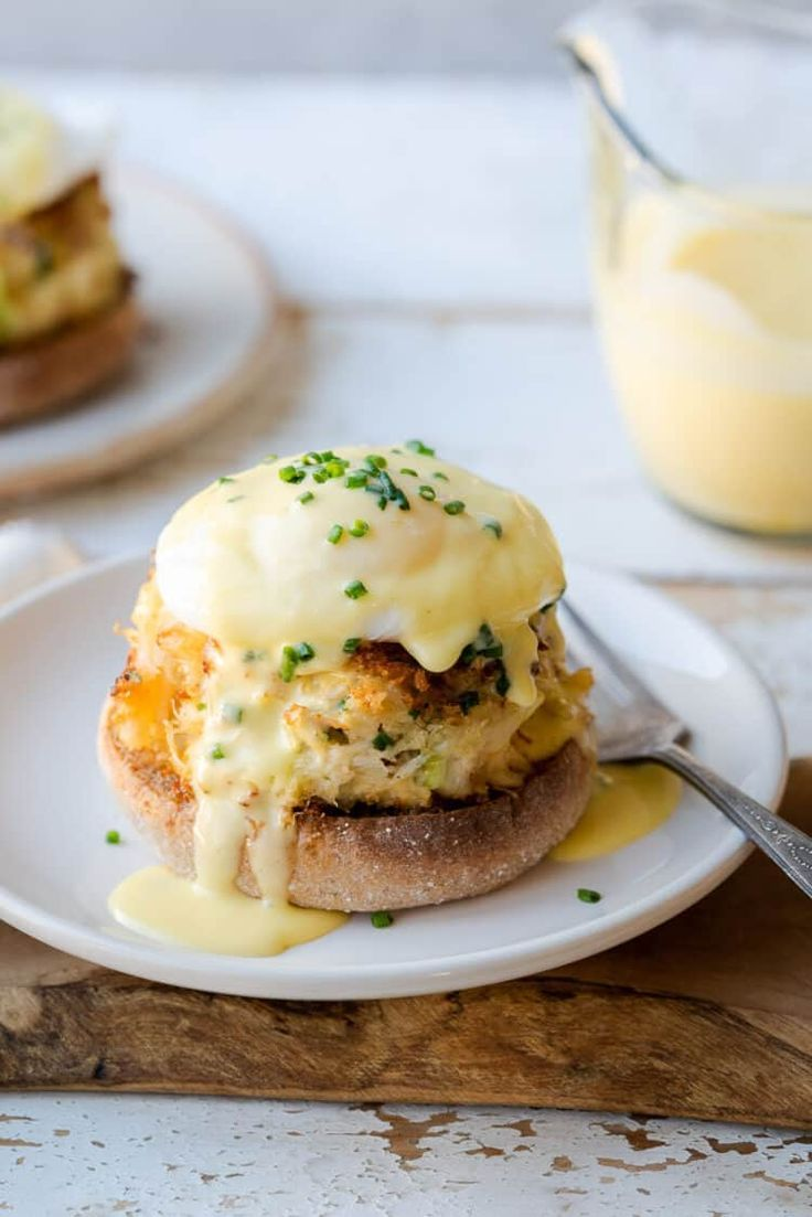 Indulge yourself this weekend and make Crab Cake Benedict! Learn how to make eggs Benedict perfectly anytime you want to make brunch extra-special. This twist on the classic recipe is easy to prep Breakfast And Brunch, Mexican Breakfast Recipes, Breakfast Dishes, Brunch Food, Breakfast Pizza, Egg Recipes, Brunch Recipes, Seafood Recipes, Cooking Recipes
