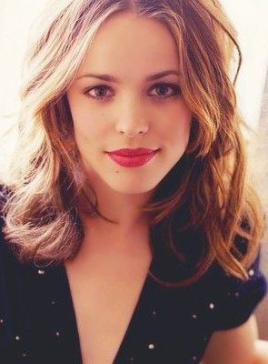 Rachel McAdams ♥ Love her acting and she can pull of ANY hair color!!!