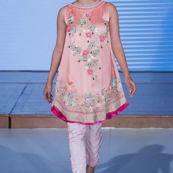 2015 Pakistan Fashion Week 8 London Somal Halepoto Formal Collection Pictures
