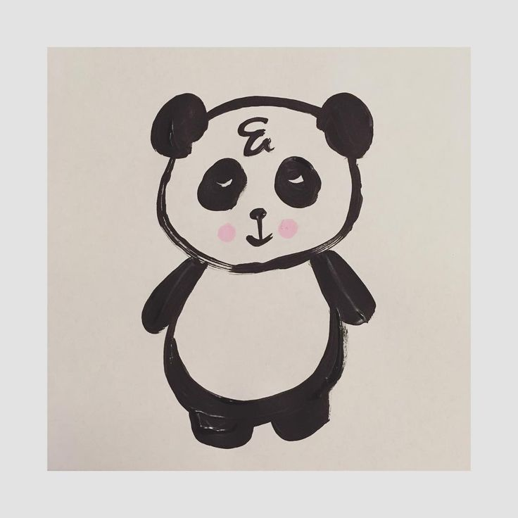 🐼 #panda #characterdesign #art #artist #artwork #doodle #cute #love #drawing…