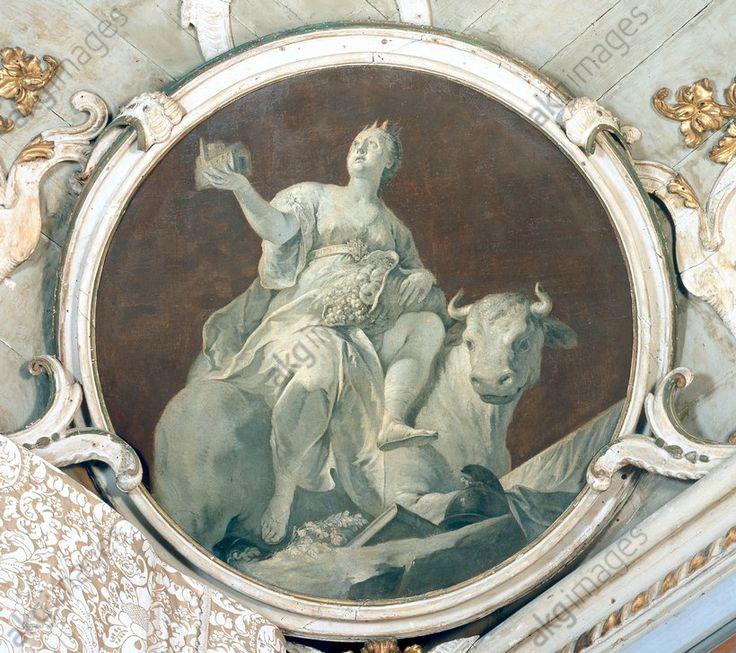 "Brusaferro, Girolamo ; v. 1700–1760. ""Europe et le taureau""."
