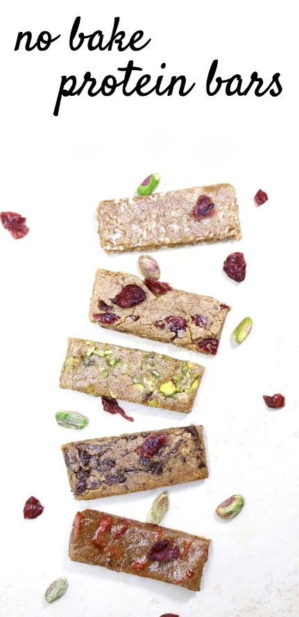 10-minute homemade protein bars with 184 calories and 14 grams of protein per bar.