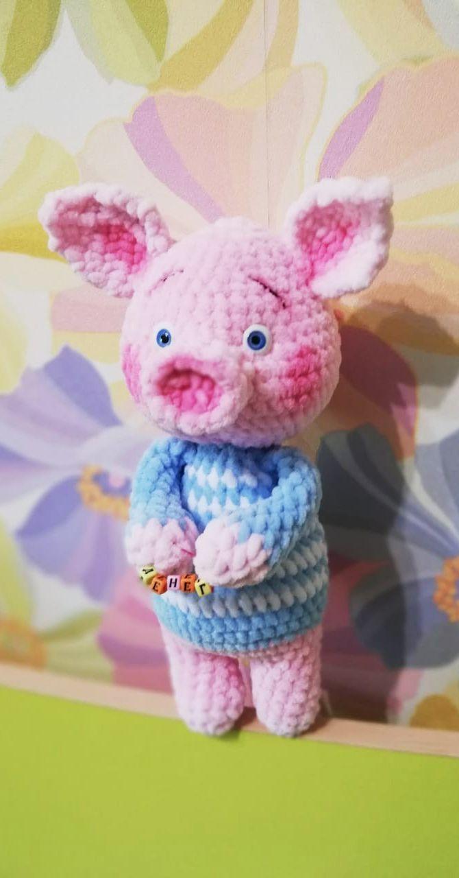PDF Плюшевые свинки. FREE amigurumi crochet pattern. Беспла…