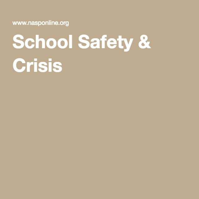 School Safety & Crisis