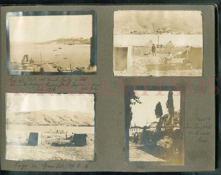 Speidel Julius, rare photographic album of 105 silver-prints of varying sizes (mainly 10x12cm)