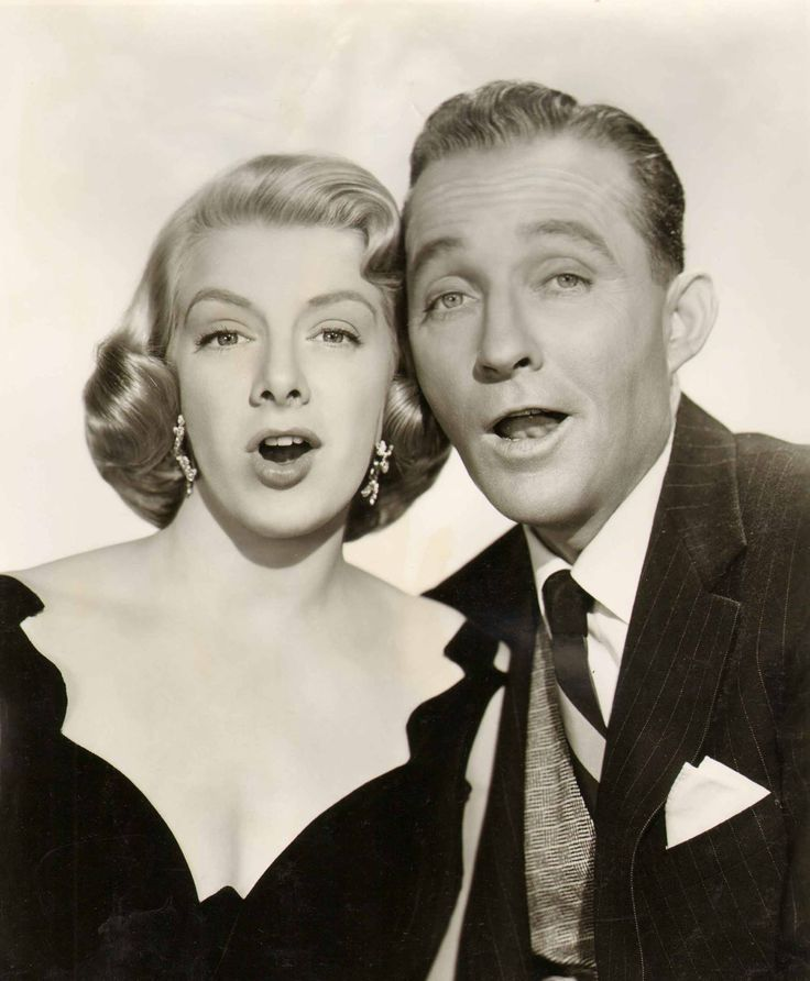 Bing Crosby & Rosemary Clooney - White Christmas is one of my favorite movies.
